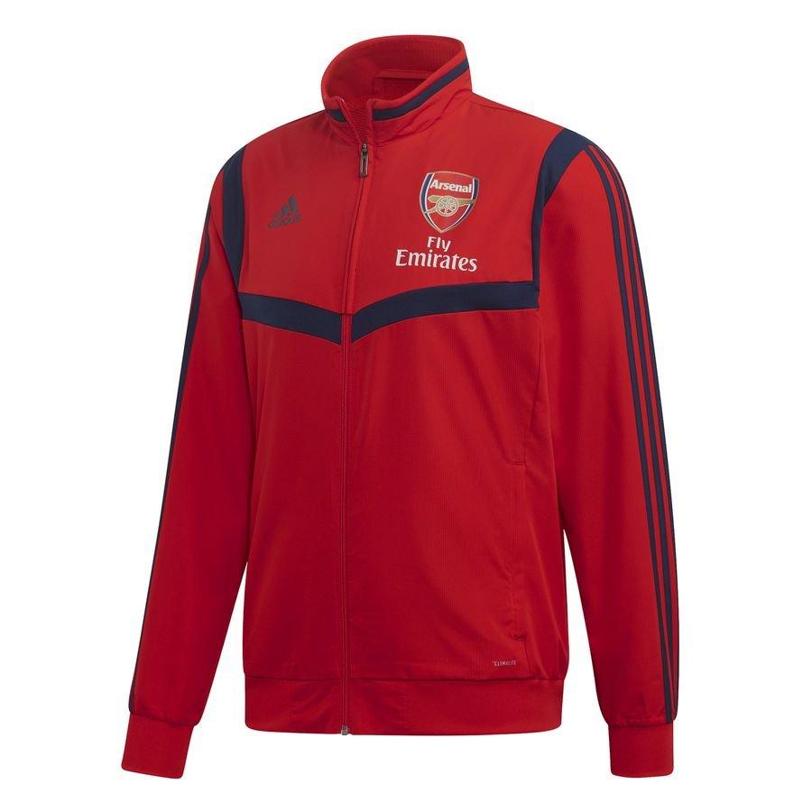 Arsenal Træningsjakke Presentation - Rød/Navy thumbnail