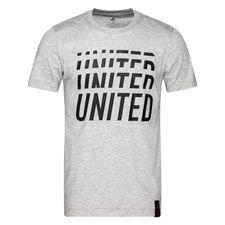 Manchester United T-Shirt DNA Graphic - Grå/Svart