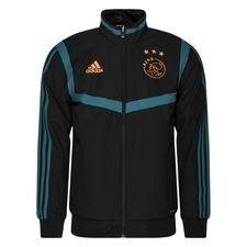 Ajax Trainingsjas Presentation - Zwart/Groen