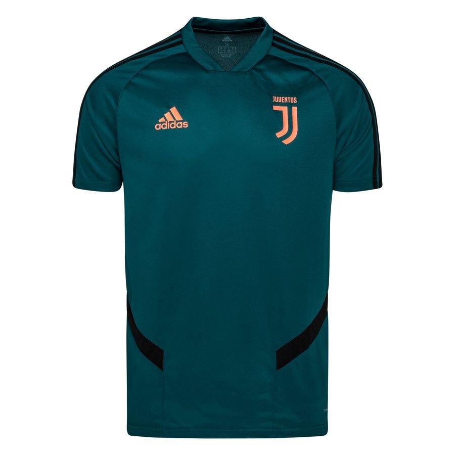 Juventus Trænings T-Shirt – Grøn/Sort