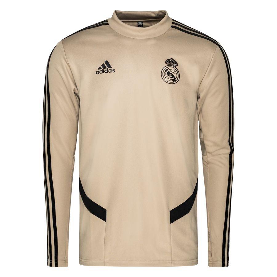 Real Madrid Træningstrøje - Guld/Sort thumbnail