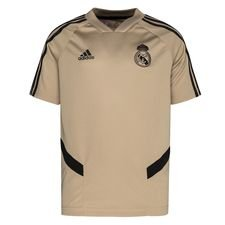 Real Madrid Tränings T-Shirt - Guld/Svart Barn