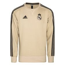 Real Madrid Sweatshirt - Gold/Schwarz