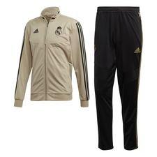 Real Madrid Träningsoverall PES - Guld/Svart