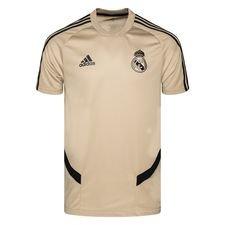 Real Madrid Tränings T-Shirt - Guld/Svart
