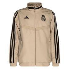 Real Madrid Träningsjacka Presentation - Guld/Svart Barn