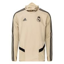 Real Madrid Träningströja Warm - Guld/Svart