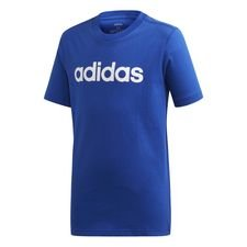 adidas T-Shirt Essential Linear Logo - Blå/Vit Barn