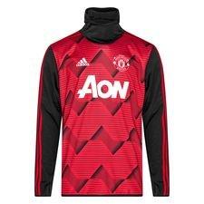 Manchester United Träningströja Warm Pre Match - Röd/Grå