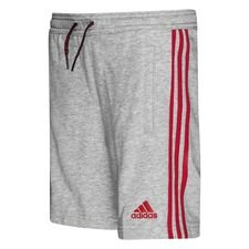 Manchester United Shorts - Grå/Röd Barn
