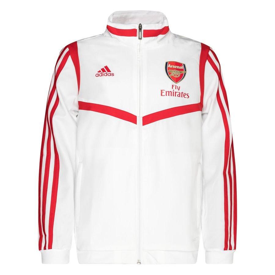 Arsenal Træningsjakke Presentation - Hvid/Rød Børn thumbnail