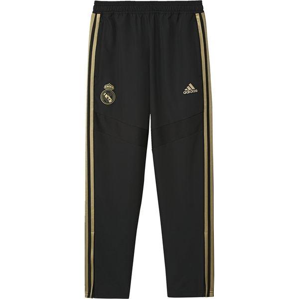 adidas Real Madrid Kinder Trainingshose schwarzgold