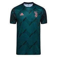 Juventus Tränings T-Shirt Pre Match Parley - Grön/Svart Barn