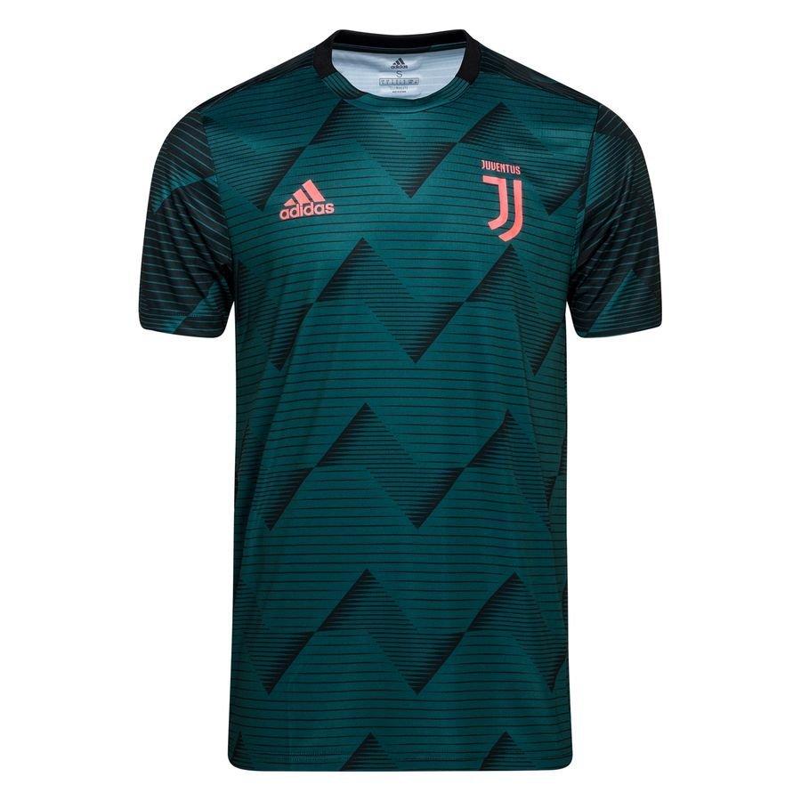Juventus Trænings T-Shirt Pre Match Parley – Grøn/Sort Børn