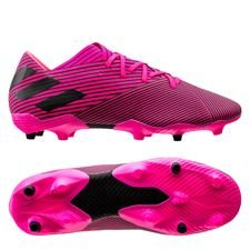 adidas Nemeziz 19.2 FG/AG Hard Wired - Pink/Sort