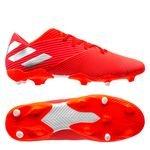 adidas Nemeziz 19.2 FG/AG 302 Redirect - Rouge/Argenté