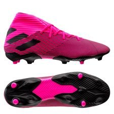 adidas Nemeziz 19.3 FG/AG Hard Wired - Pink/Sort