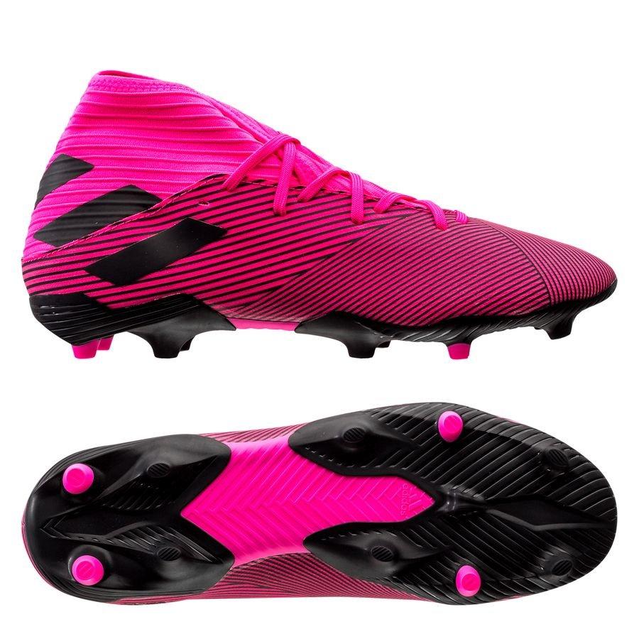 adidas Nemeziz 19.3 FG/AG Hard Wired - Pink/Sort