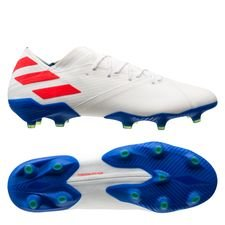 adidas Nemeziz Messi 19.1 FG/AG 302 Redirect - Footwear White/Solar Red/Football Blue