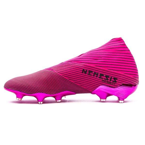 adidas Nemeziz 19+ FGAG Hard Wired RosaSvart   www