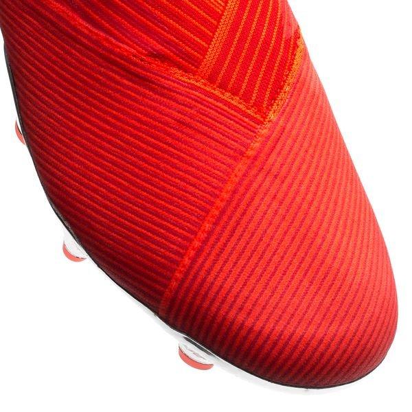 730dc7a8 adidas Nemeziz 19+ FG/AG 302 Redirect - Rød/Sølv/Rød   www ...