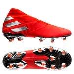 adidas Nemeziz 19+ FG/AG 302 Redirect - Action Red/Silver Metallic/Solar Red