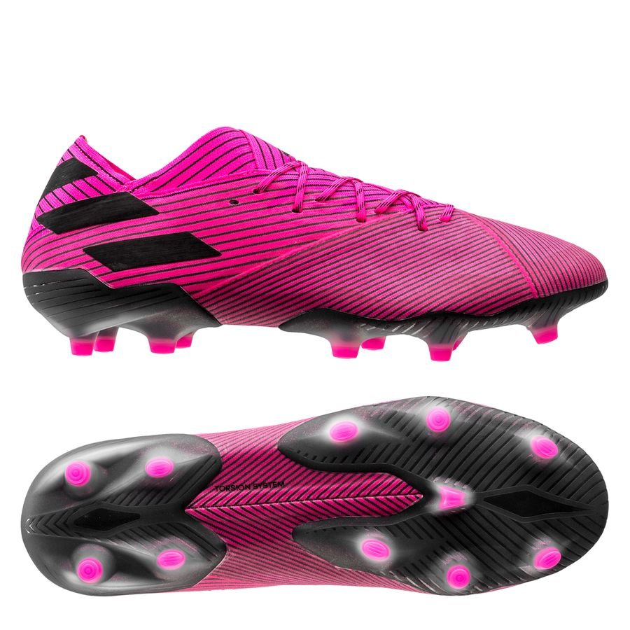 adidas Nemeziz 19.1 FG/AG Hard Wired – Pink/Sort