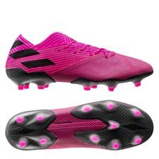 adidas Nemeziz 19.1 FG/AG Hard Wired - Pink/Sort