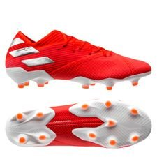 adidas Nemeziz 19.1 FG/AG 302 Redirect - Action Red/Silver Metallic/Solar Red