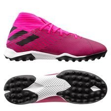 adidas Nemeziz 19.3 TF Hard Wired - Pink/Sort