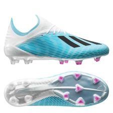adidas X 19.1 FG/AG Hard Wired - Turkis/Sort/Pink