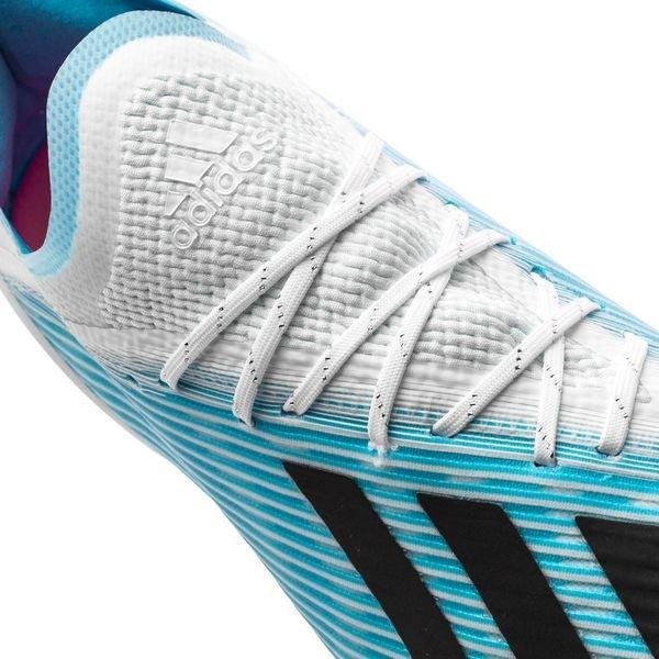 adidas X 19.1 FGAG Hard Wired TurkisSortRosa