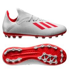 adidas X 19.3 AG 302 Redirect - Zilver/Rood Kinderen