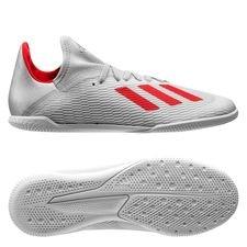 adidas X Tango 19.3 IN 302 Redirect - Zilver/Rood Kinderen