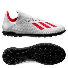 adidas X Tango 19.3 TF 302 Redirect - Zilver/Rood Kinderen