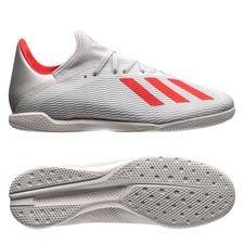adidas X Tango 19.3 IN 302 Redirect - Silver/Röd