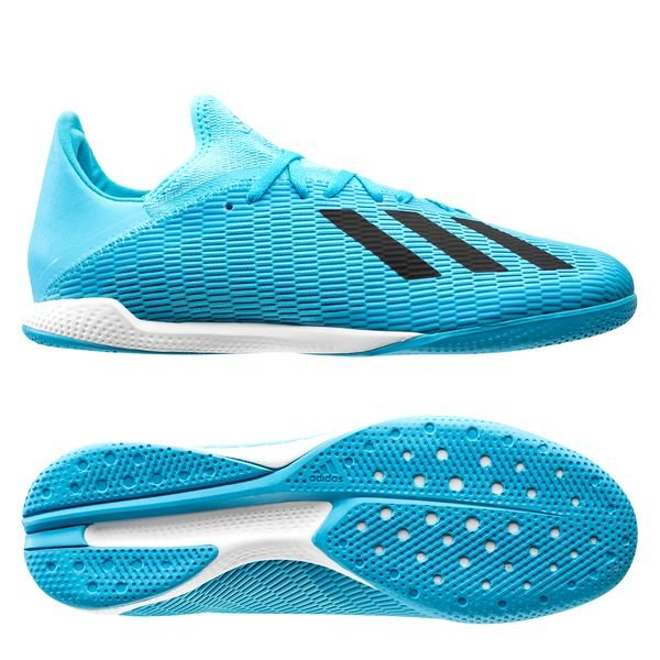 adidas X 19.3 IN Hard Wired Bright CyanCore Black
