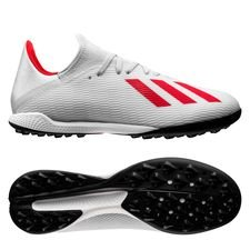 adidas Tango X 19.3 TF 302 Redirect - Zilver/Rood
