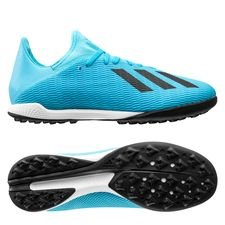 adidas X 19.3 TF Hard Wired - Turkis/Sort