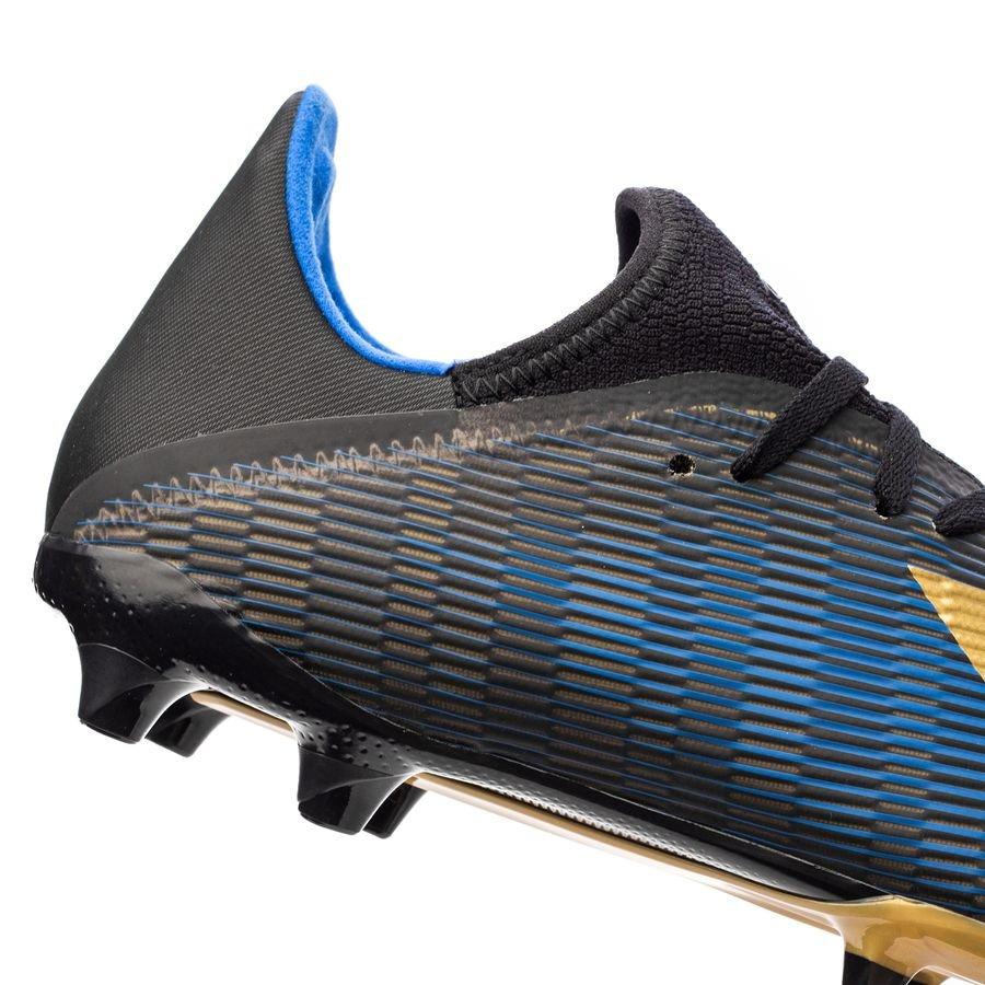 adidas X 19.3 FGAG Input Code SchwarzGoldFootball Blue