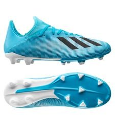adidas X 19.3 FG/AG Hard Wired - Turkos/Svart