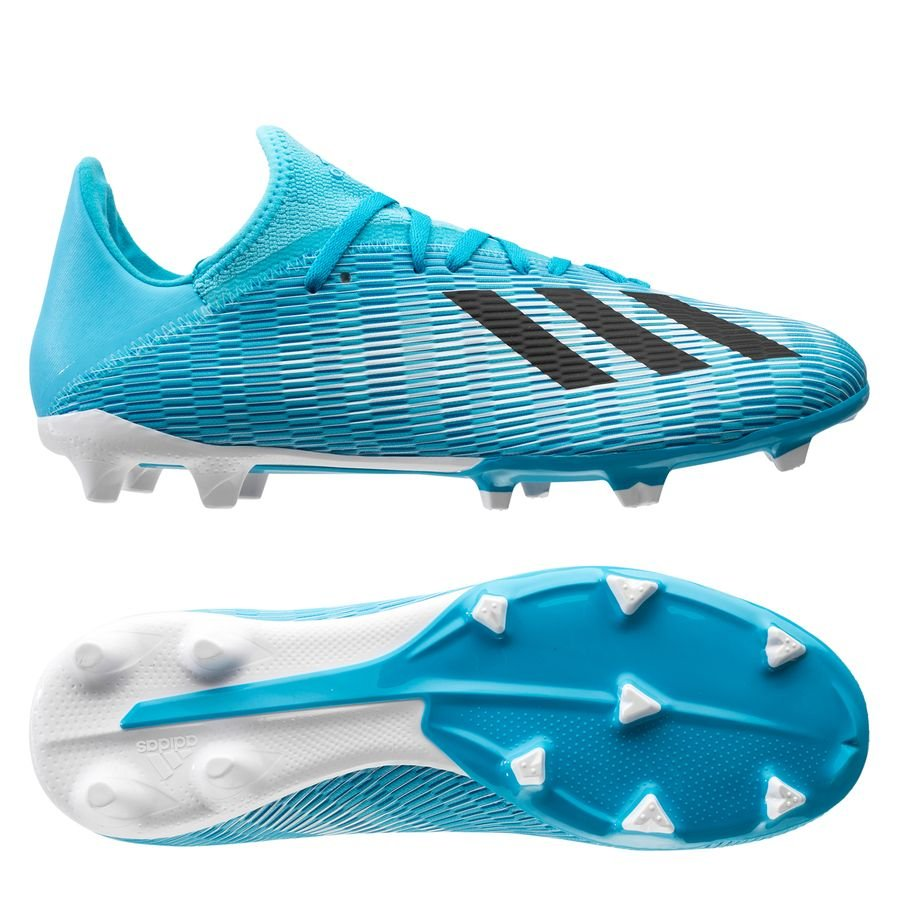 adidas X 19.3 FG/AG Hard Wired - Turkis/Sort