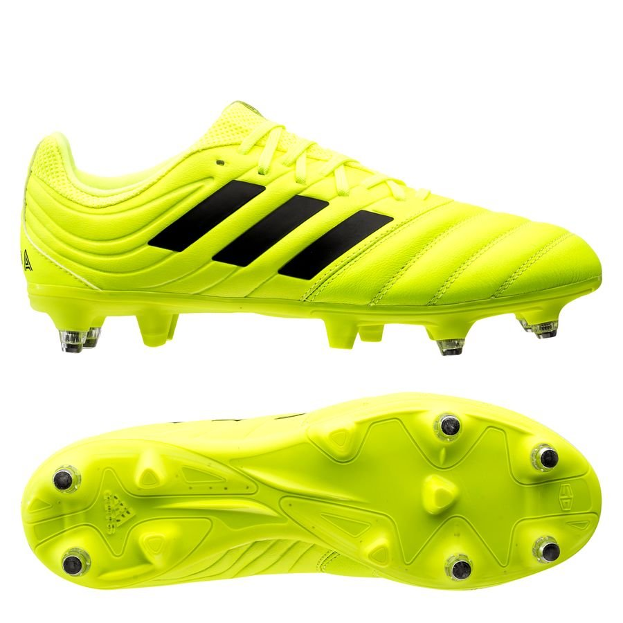 adidas Copa 19.3 SG Hard Wired - Gul/Sort