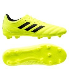 adidas Copa 19.3 FG/AG Hard Wired - Gul/Svart Barn