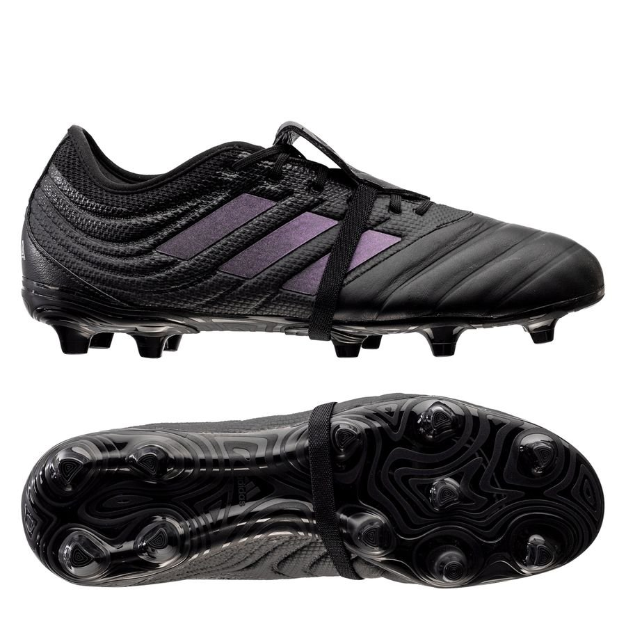 adidas Copa Gloro 19.2 FG/AG Dark Script - Sort/Sølv