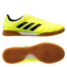 adidas Copa 19.3 IN Hard Wired - Gul/Sort