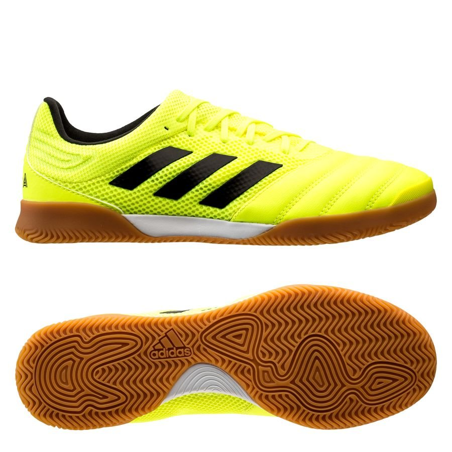 adidas Copa 19.3 IN Hard Wired - Gul/Sort thumbnail