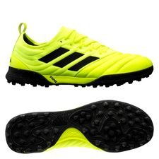 adidas Copa 19.1 TF Hard Wired - Gul/Sort