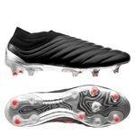 adidas Copa 19+ FG/AG 302 Redirect - Musta/Punainen/Hopea