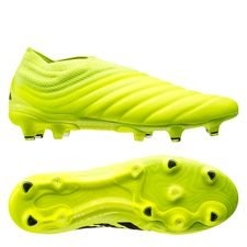 adidas Copa 19+ FG/AG Hard Wired - Gul/Sort